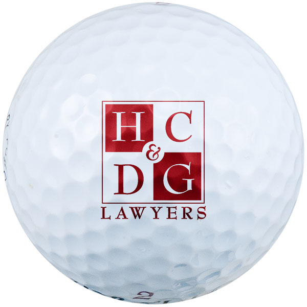 Pad Printed Golf Ball